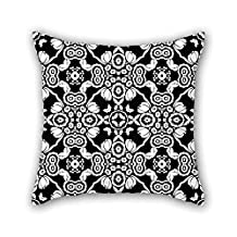 Cushion Covers Of Bohemian 20 X 20 Inches / 50 By 50 Cm Best Fit For Indoor Floor Lover Teens Boys Wife Kids Girls Both Sides