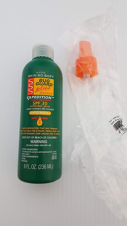 Avon SSS Bug Guard Plus Expedition Pump Spray - 8 Oz. BONUS SIZE