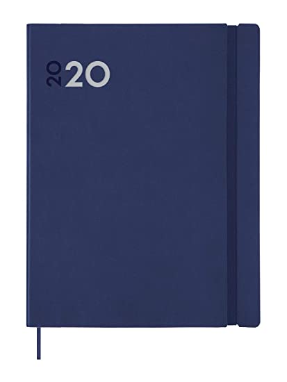 Finocam - Agenda 2020 semana vista vertical Dynamic Mara Azul español