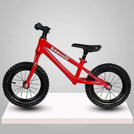 Bicicleta para niños, bicicleta sin pedales, bicicleta de 12