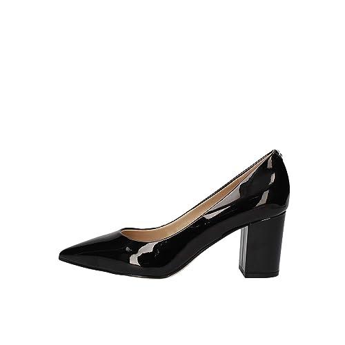 size 40 7146e 79062 Guess Scarpe Donna Biella Decollete in Vernice Colore Black ...