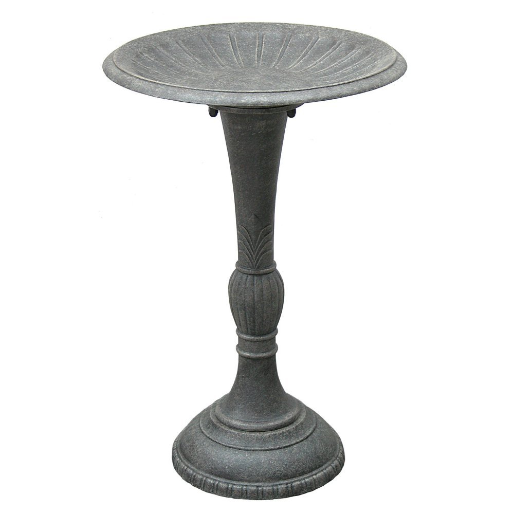 Innova Hearth and Home Fluted Birdbath by Innova Hearth and Home