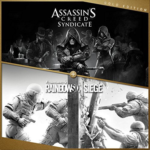 Assassin's Creed Syndicate + Tom Clancy's Rainbow 6 Siege Gold - PS4 [Digital Code] by Ubisoft