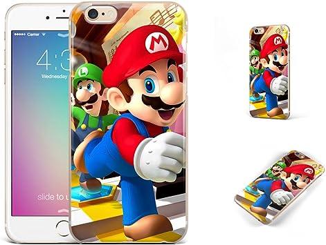 GSPSTORE iPhone 6 Plus, iPhone 6S Plus Case Super Mario Bros.Super ...