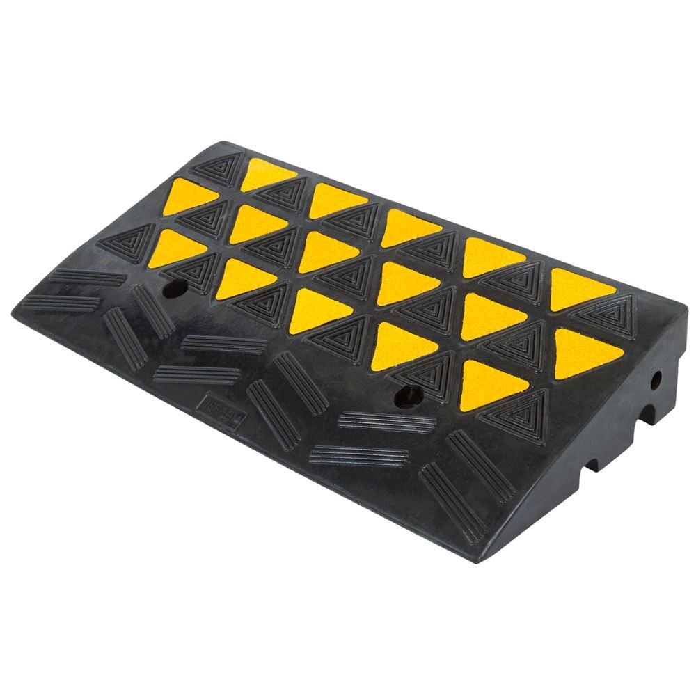Rage Powersports KR30R Heavy Duty Warehouse Industrial Rubber Reflective Curb Ramp