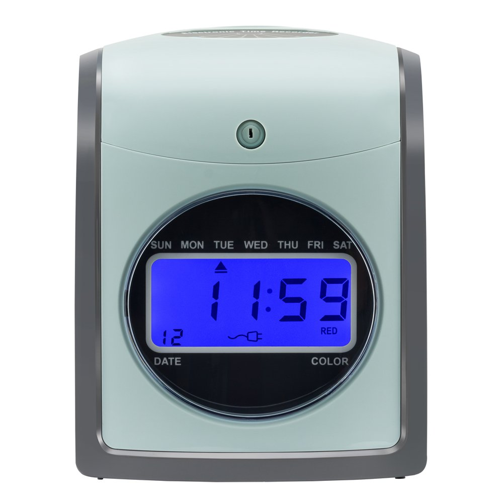 SSELF Employee Time Clock Card Machine Include 100-Cards (S-860)