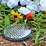 Orgonite Crystal Water Charging Plate with Blue
