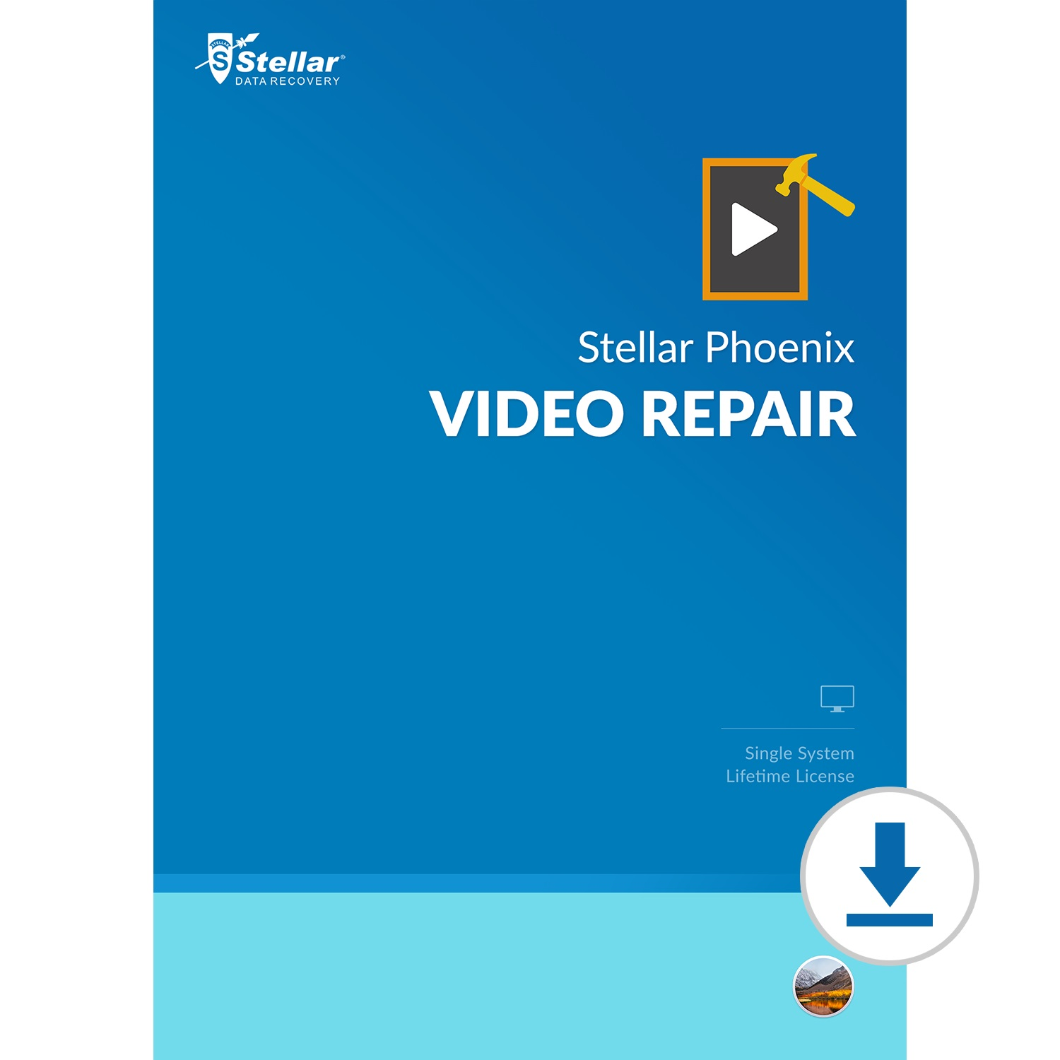 Stellar Repair for Video for Mac|Repair All Damaged Video File formats|1 Device - 1 Year Subscription|2019 Ready [Download Code]