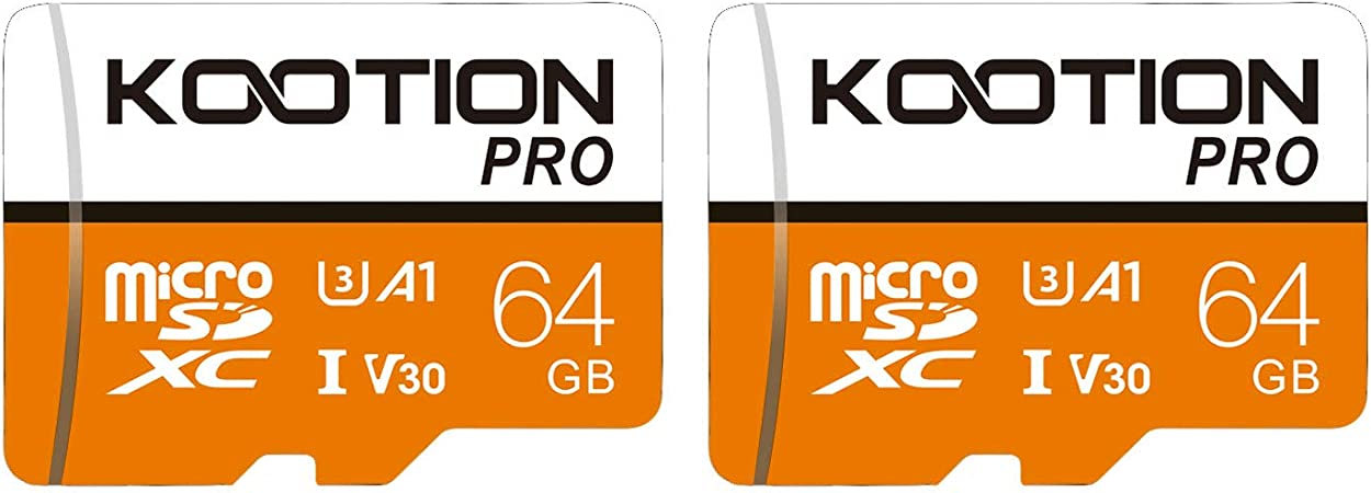 Kootion Micro Sd Cards 64gb Memory Card Pack Of 2 Mini Computers Accessories