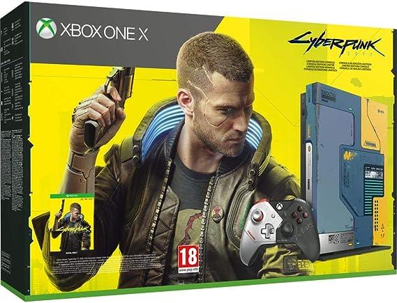 Xbox One - Pack Xbox One X Cyberpunk 2077 Edición limitada (1 TB ...