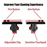 PUBG Mobile Controller, Upgrade Version PUBG/Knives Out/Rules of Survival/Fortnite L1R1 Aim & Fire Trigger Rules of Survival, Mobile Gaming Joysticks for Android IOS Phone