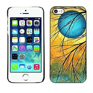 PC/Aluminum Funda Carcasa protectora para Apple Iphone 5 / 5S Twilight sign / JUSTGO PHONE PROTECTOR