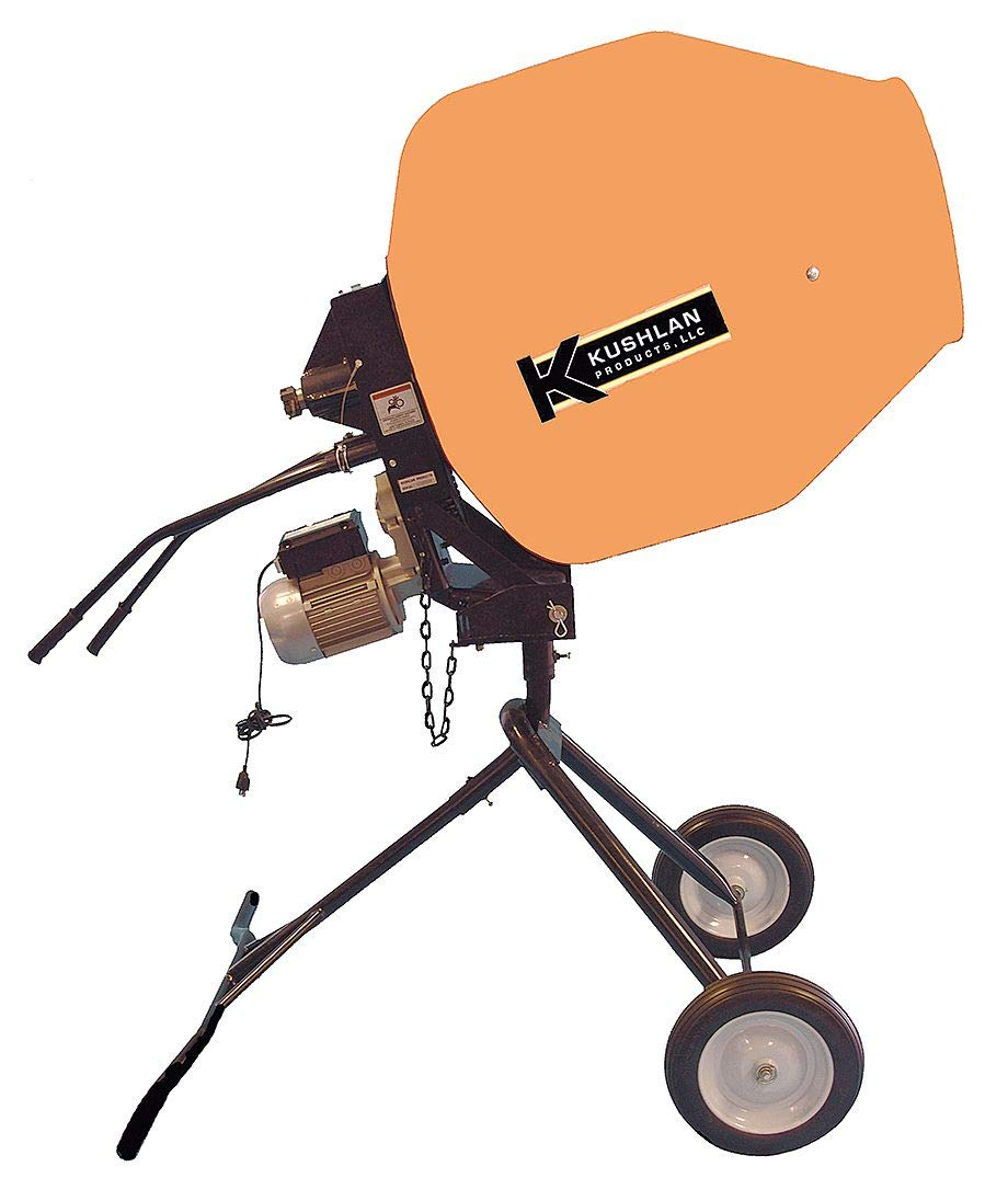 Kushlan Products 1000DD Unassembled Direct Drive Cement Mixer