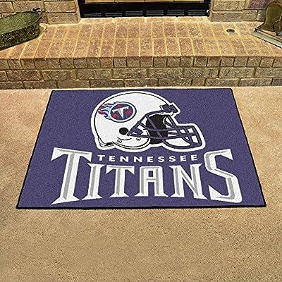 "Fan Mats 5861 NFL - Tennessee Titans 34"" x 45"" All-Star Series Area Rug / Mat"