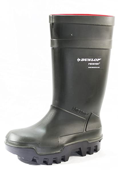 Dunlop unisex purofort thermo+ safety wellington boot B00HU5H4F2
