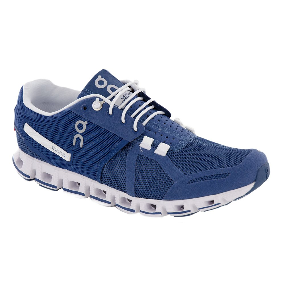 ON Women's Running Cloud Sneaker B01N9D9CED 10.5 B(M) US|Denim/White