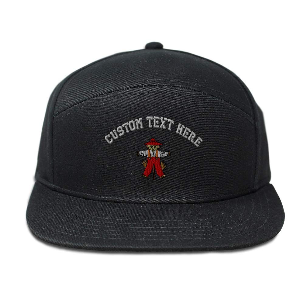 Custom Snapback Hats for Men /& Women Scarecrow Full Body Style B Embroidery