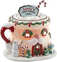 Department 56 North Pole Village Santa's Hot Cocoa Café Lit House