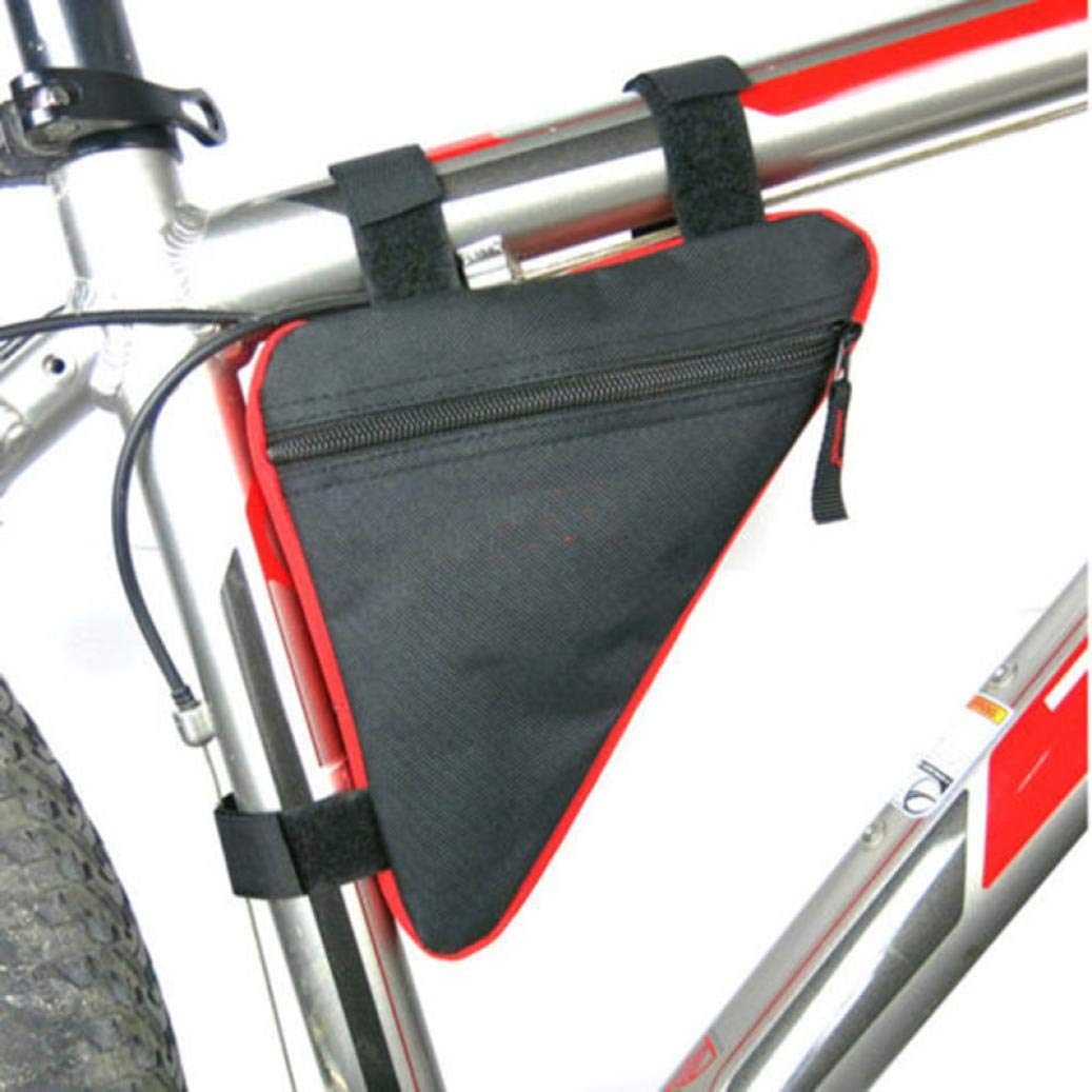 New Bicycle Front Frame Bag Cycling Bike Tube Pouch Holder Saddle Panniers