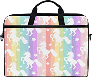JOKERR Laptop Case Unicorn Rainbow Star 14 inch to 14.5 inch Computer Sleeve Bag