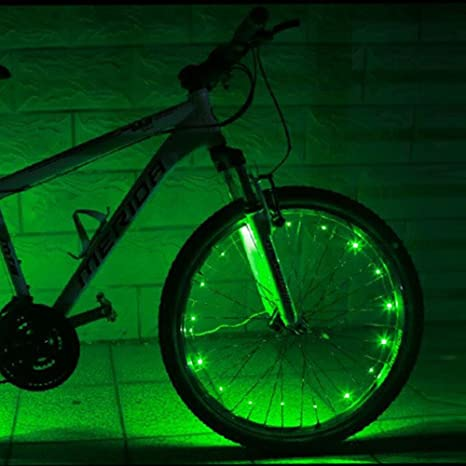 Etelux Recargable LED Luz para Llanta de Rueda Bici Bicicleta, 2.2 ...