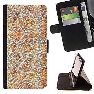 Neon Hair White Colorful Fur - Modelo colorido cuero de la carpeta del tirón del caso cubierta piel Holster Funda protecció Para Apple (4.7 inches!!!) iPhone 6 / 6S