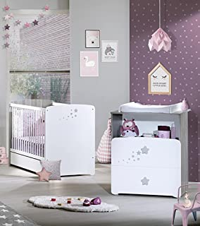 baby price nj371 chambre bb duo lit commode - Chambre Olivia Bebe
