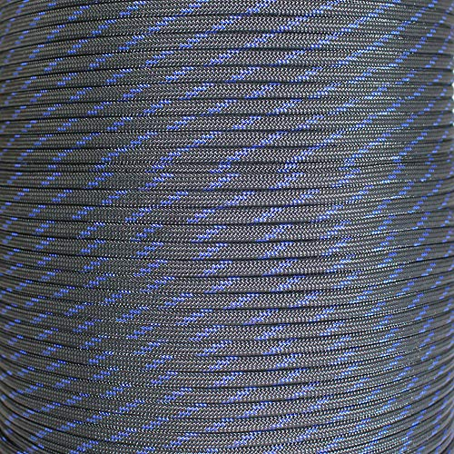 SGT KNOTS Paracord 550 Type III 7 Strand - 100% Nylon Core and Shell 550 lb Tensile Strength Utility Parachute Cord for Crafting, Tie-Downs, Camping, Handle Wraps (Blue Knight - 10 ft) by SGT KNOTS (Image #1)