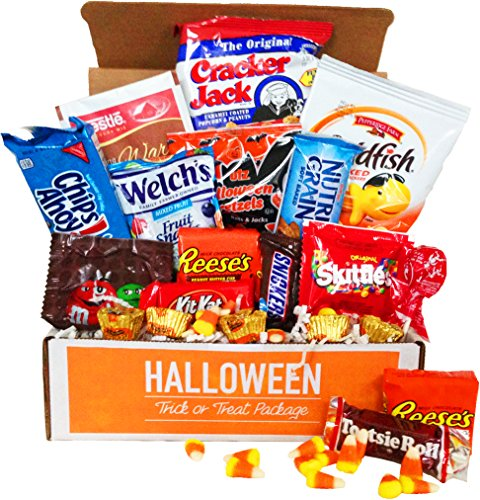 Halloween Trick or Treat Package (Halloween Candy Baskets)