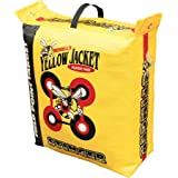 Morrell Yellow Jacket 19 Pound Portable Stinger Adult Field Point Archery Bag Target with 2 Shooting Sides, 10 Bullseyes, and