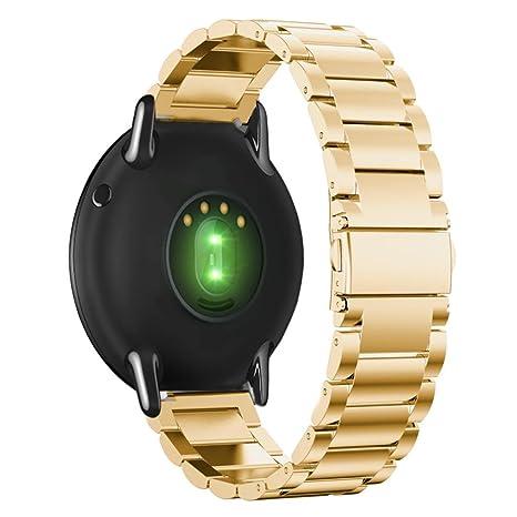 Reloj Correa para Xiaomi huami amazfit A1602, saingace pulsera de acero inoxidable correa de banda