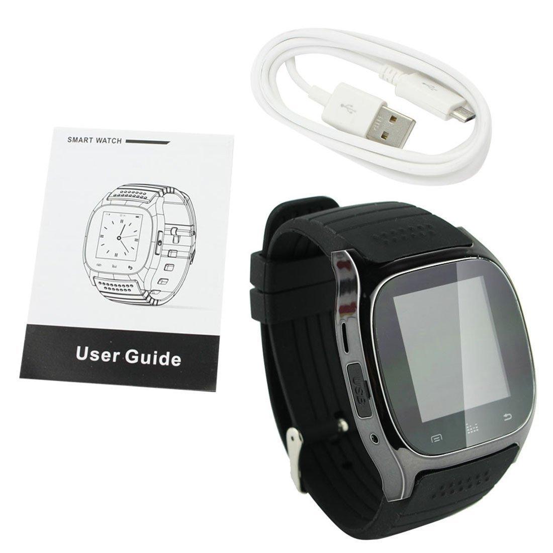 pandaoo portátil Bluetooth Smart Watch M26 Inteligente Reloj ...