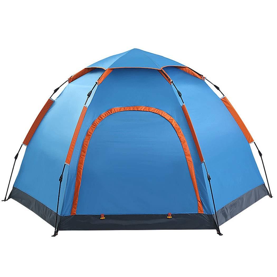 HUIFANG Sechseckiges Automatikzelt Outdoor 5-8 Personen Personen Personen Einlagiges Doppelzelt-Campingpicknick Bei Regen260260  155cm A B07NTW1927 Kuppelzelte Ideales Geschenk für alle Gelegenheiten f43bc2