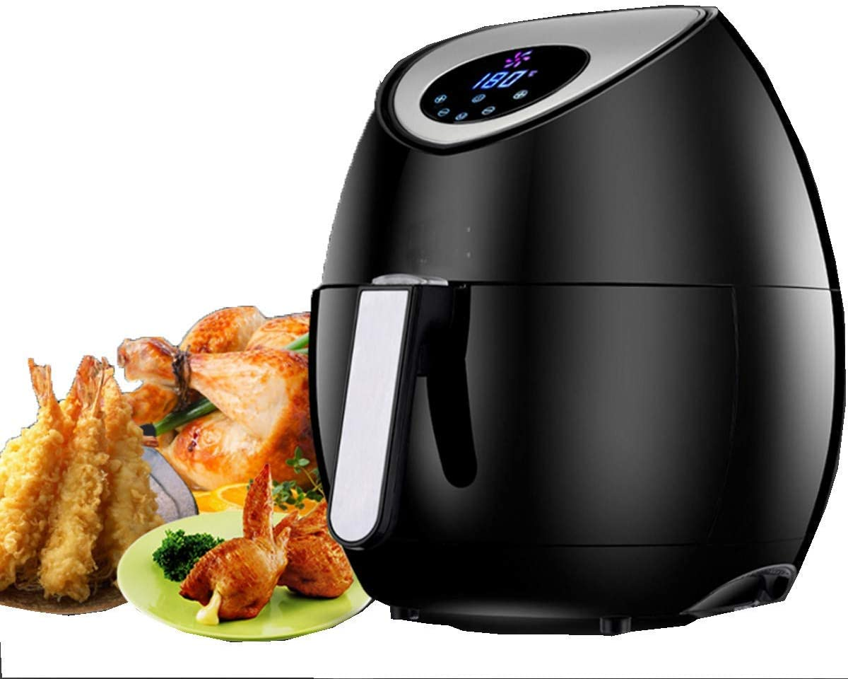 OFAY Digital Display air Fryer 3.2L, Timer and Fully Adjustable Temperature Control for Healthy Oil-Free and Low-Fat Cooking