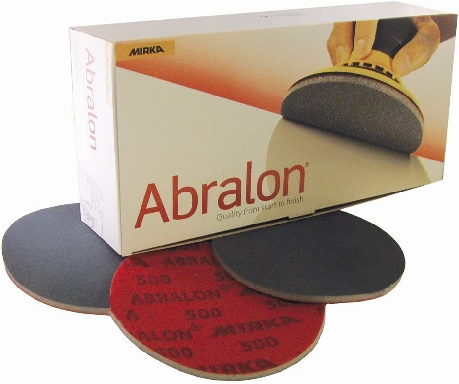 Mirka 8 a24102051 Abralon Grip 500, 150 mm, 20 Pro Pack: Amazon.es: Coche y moto