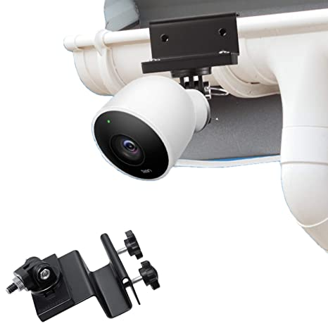 Wasserstein - Soporte Impermeable para canalón Compatible con cámara de Seguridad Nest CAM Outdoor con Adaptador magnético: Amazon.es: Electrónica
