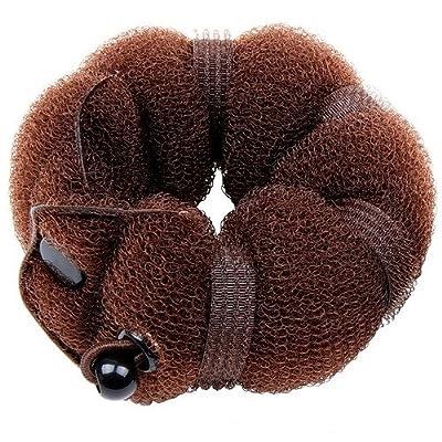 Goldrose Beauty Buns 2 Piece Magic Hair Styling Styler Twist Ring Former Shaper Doughnut Donut Chignon Bun Maker Clip Hair Curler Accessory Small & Large