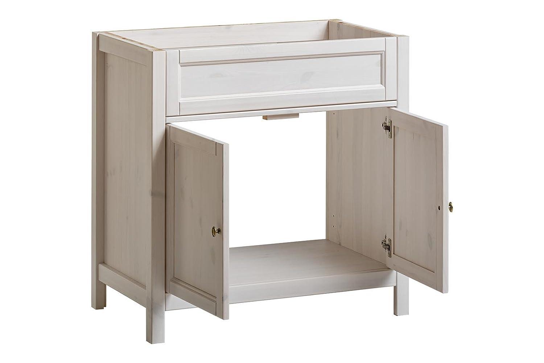 Royal 821 P/UM 80 Cm Badschrank, Holz, Weiß, 45 X 78 X 80 Cm: Amazon.de:  Küche U0026 Haushalt