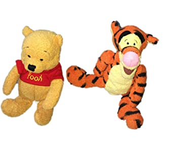 Surprising Amazon Com Winnie The Pooh Bean Bag Set Of 2 Huggy Pooh And Ncnpc Chair Design For Home Ncnpcorg