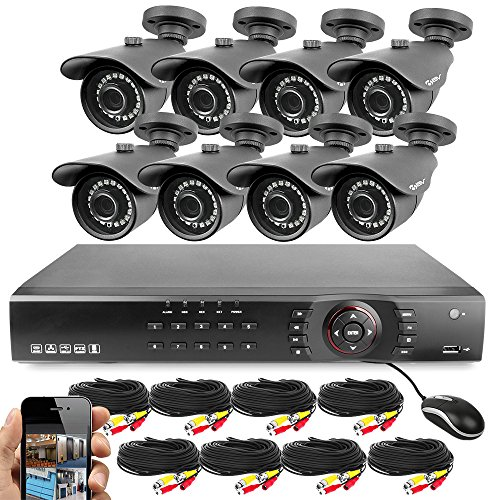 Best Vision 16CH 4-in-1 HD DVR Security Camera System (1TB HDD),