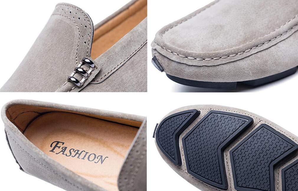 Hy Herrenschuhe, Frühlingslicht-Tropfen-Driving schuhe, Loafers & Slip-Ons Lazy Schuhe, Schuhe, Schuhe, Wanderschuhe,Khaki,37 da2d5a