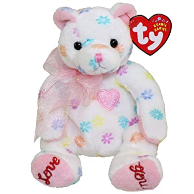 Ty Beanie Babies MOM-e - Bear (Ty Store Exclusive): Toys & Games