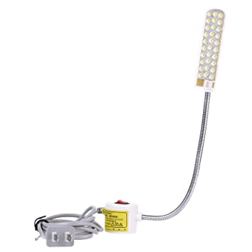 Nähmaschine 20 LED 220V Magnetbasis Flexible Montage Licht Beleuchtung Lampe