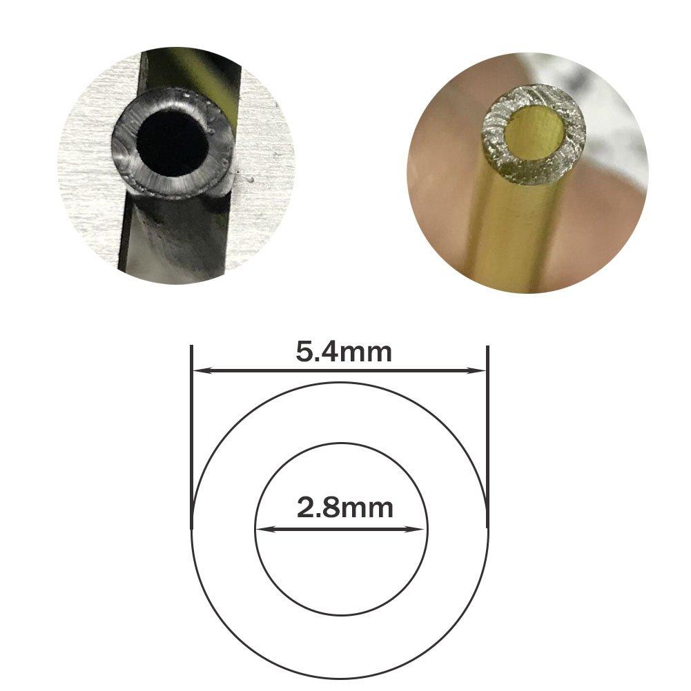 SWNKDG 3 m metros 3 mm de diámetro Manguera de combustible Manguera de combustible Manguera de ölschlauch Diesel PVC Manguera