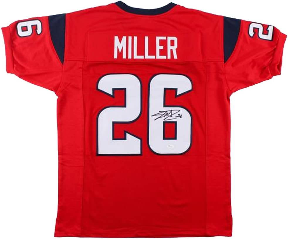 Lamar Miller Signed Autographed Houston Texans Jersey at Amazon's ...