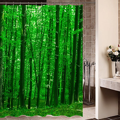 Tree of Life Gorgeous Like Leather Bath Shower Curtain