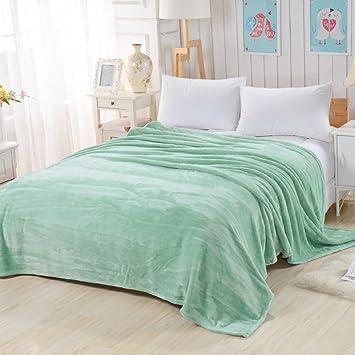 Amazon.com: Transpirable mantas de cama, suave manta ...