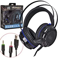 Headset gamer Bass Vibration KP-417 7.1 Sound Effect