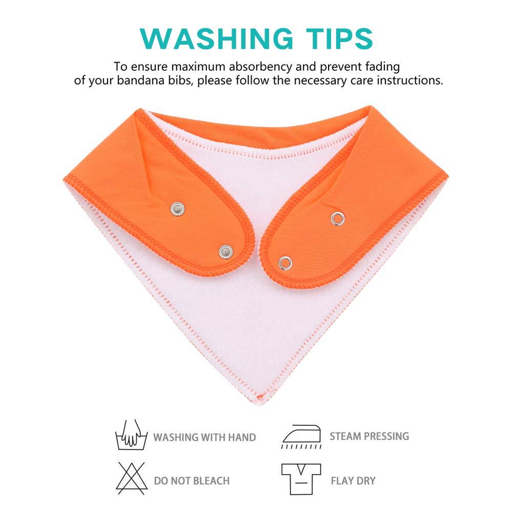 Amazon.com: Baberos bandana para bebé para niños y niñas ...
