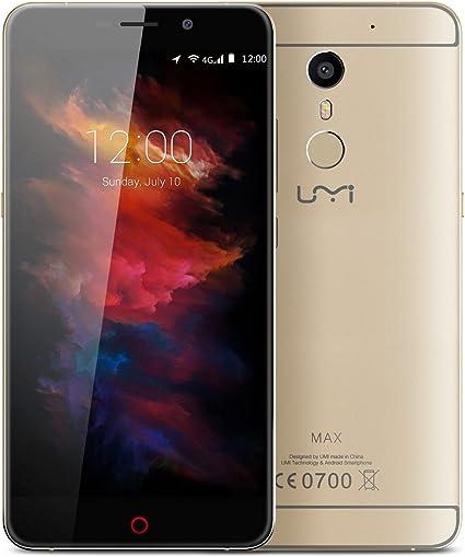 UMI MAX - Smartphone Móvil Libre Android 6.0 4G (5.5